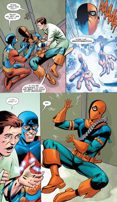 deathstroke you are adorable