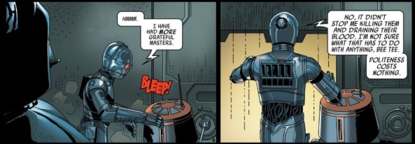 Droid attitudes are universal.