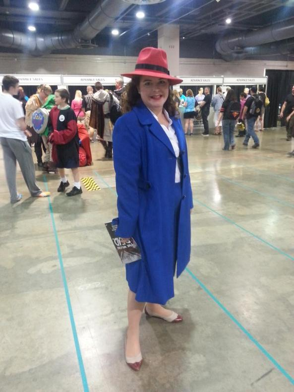 Every Peggy Carter I saw was rockin' the blue suit. It's become iconic in record time