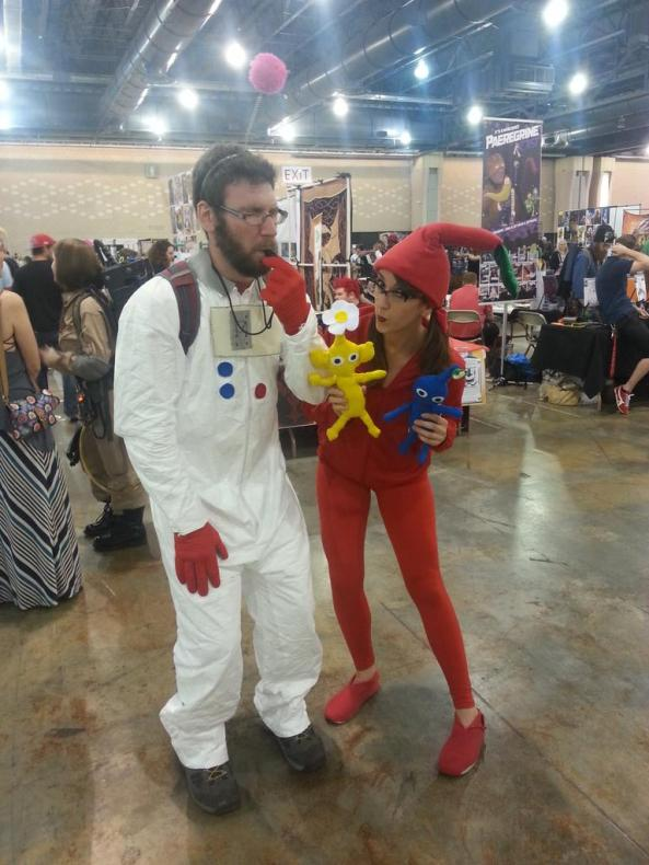 Best couples cosplay of the day, hands down