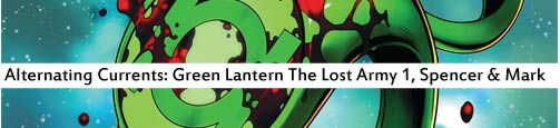 green lantern lost army 1