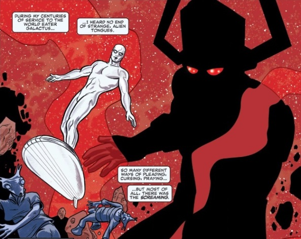 Silver Surfer is the Herald