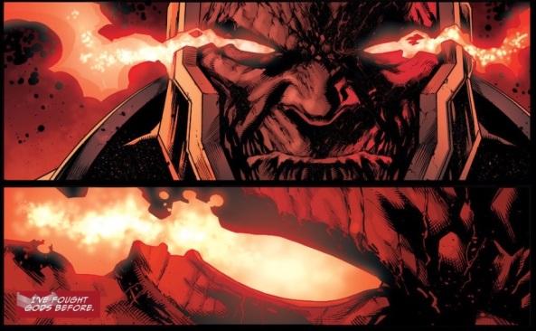 Darkseid wants to be a god