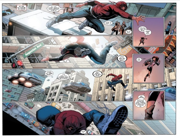 Free to be Spider-Man again