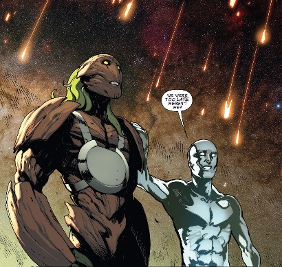 Groot and Silver Surfer lose