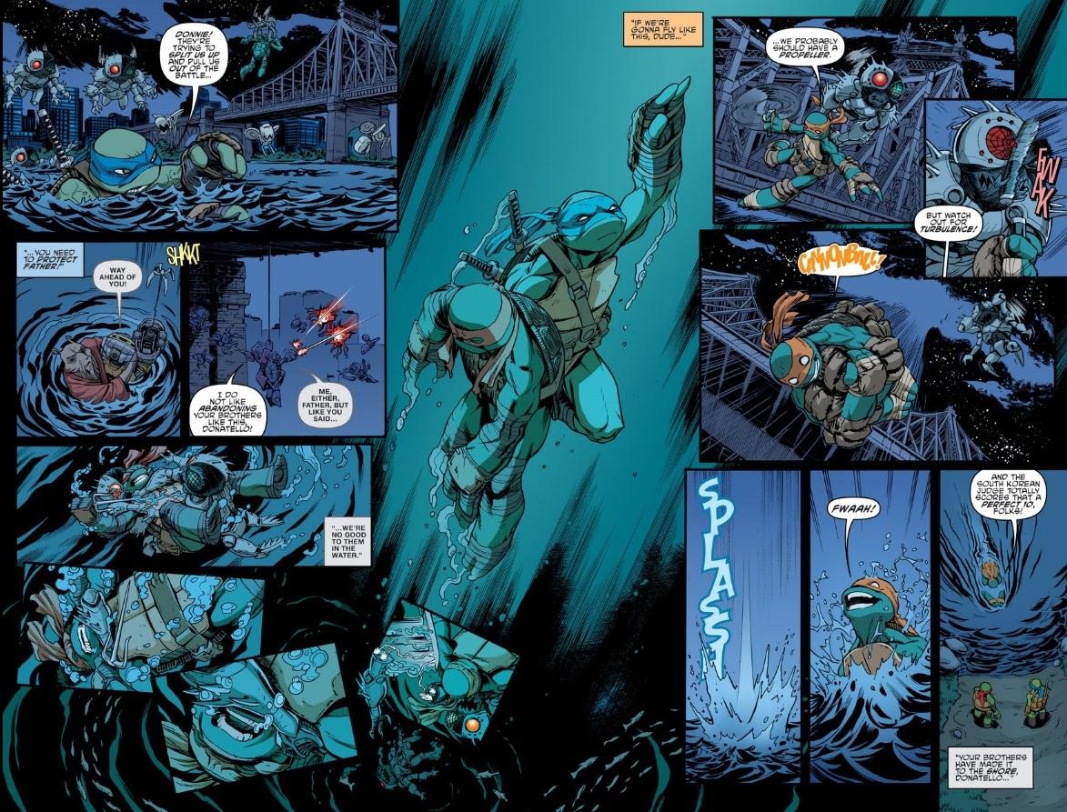 Teenage Mutant Ninja Turtles 48 Retcon Punch