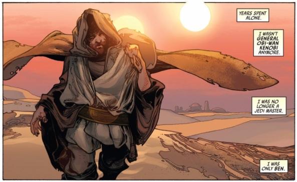 Kenobi is part of the landscape