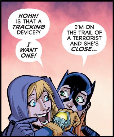 Spoiler and Batman