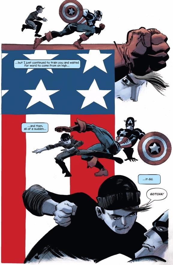 Captain America, fuck yeah!