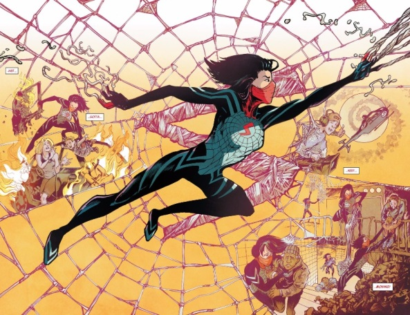 Silk saves the day