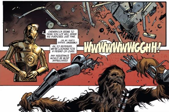 Good droid, bad Wookie