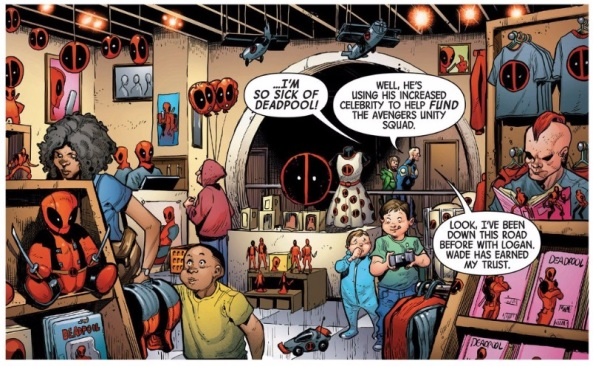 Merchandize the hell out of Deadpool