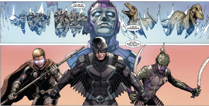 Image result for THE UNCANNY INHUMANS