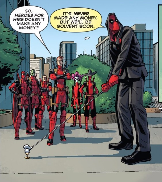 Deadpool's new threads