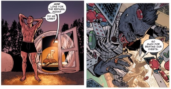 Matt and Midnighter's post-appartment attack and remodeling tour