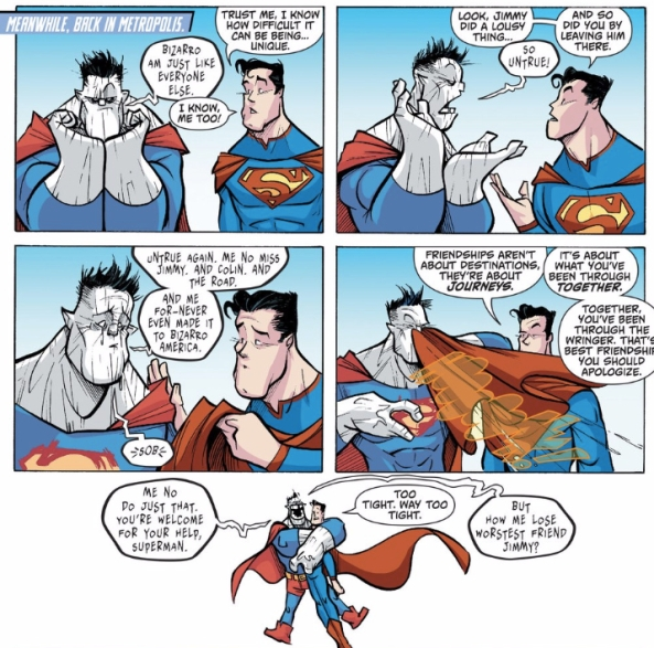 Super pep-talk