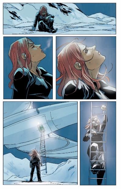 Black Widow is rescued