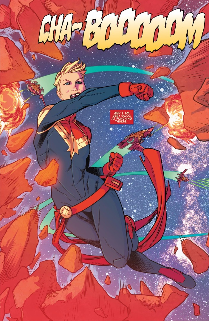captain marvel 2016
