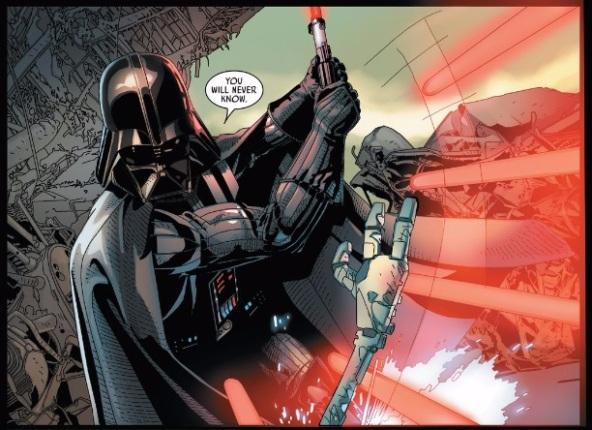 Vader slices up Karbin