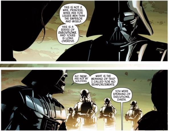 Vader tells it like it is