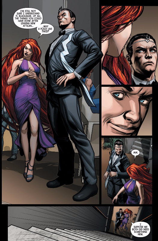 five minutes into netflix and chill and Black Bolt gives you this look