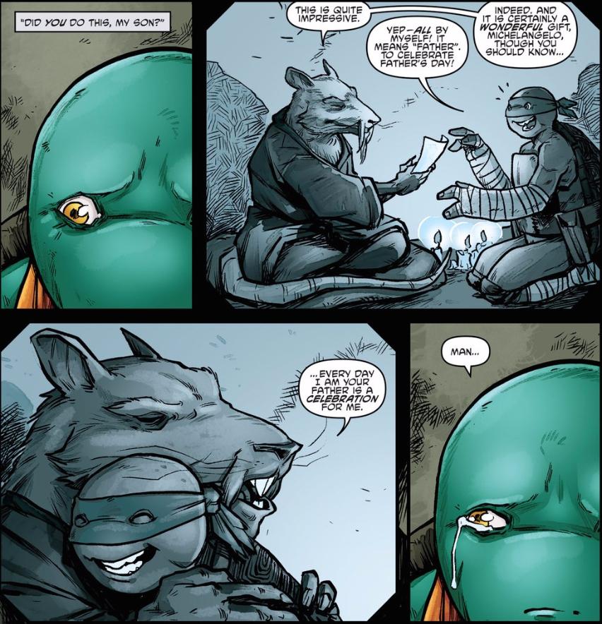Teenage Mutant Ninja Turtles 55 Retcon Punch