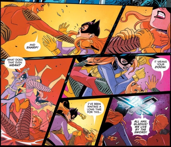 batgirl fight