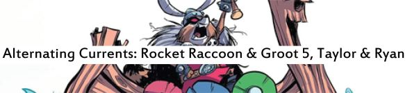 rocket raccoon and groot 5