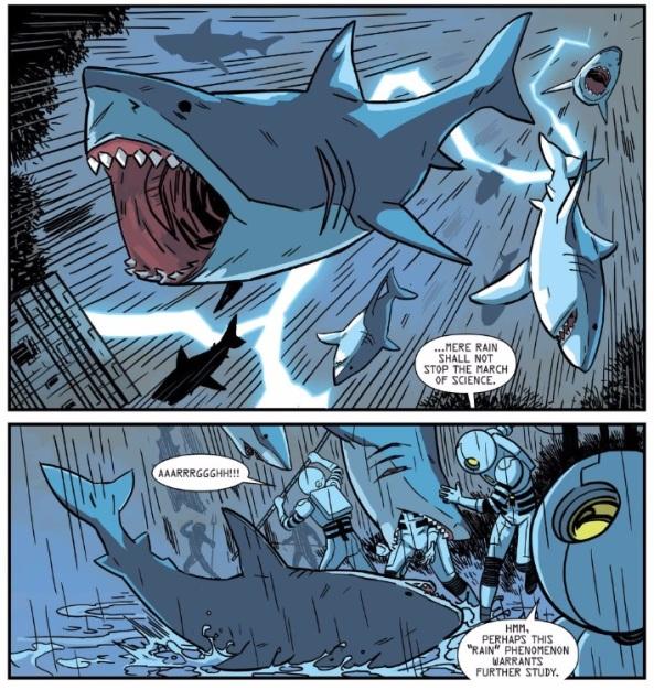 Shark Rain!