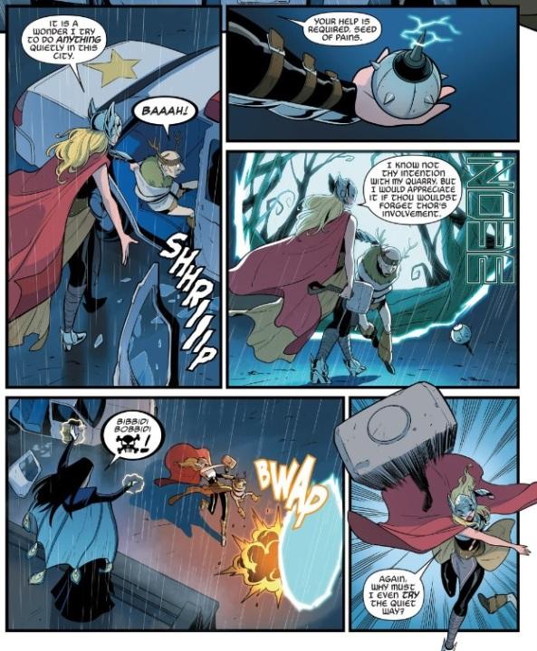Thor, busting loose