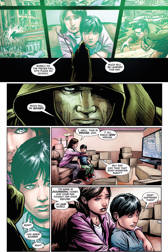 Action Comics 958   Retcon Punch