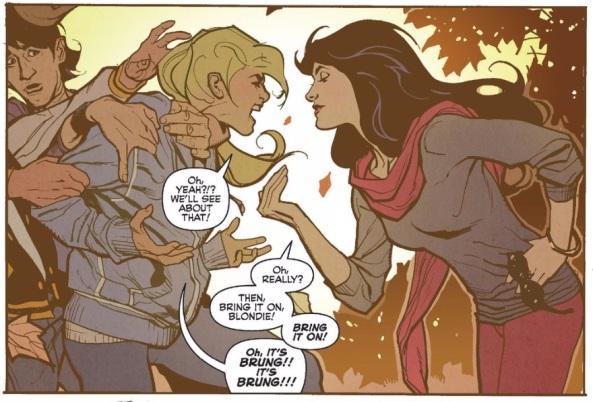 Betty vs Veronica