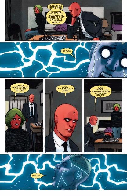 Victor electrocutes Vin