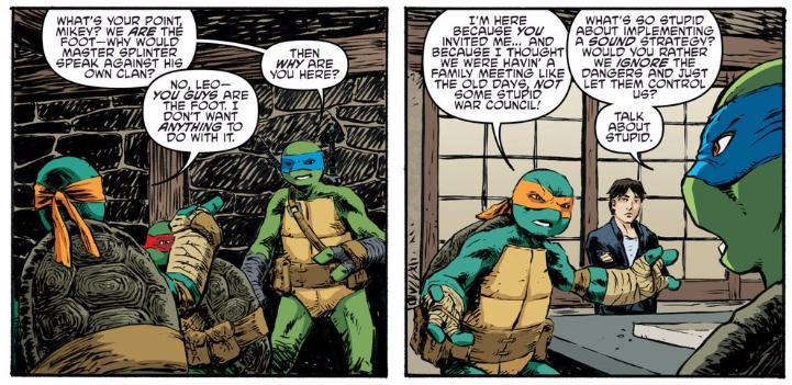 Teenage Mutant Ninja Turtles 61 | Retcon Punch