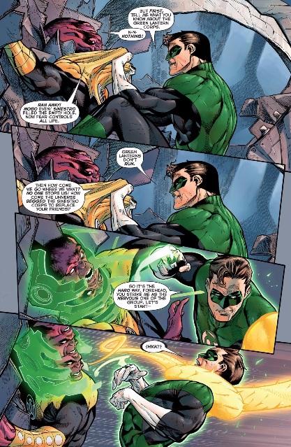 Maash and Hal Jordan