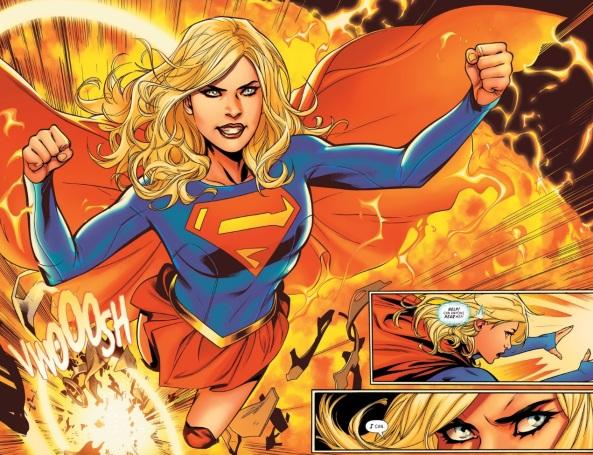 Supergirl sunburst