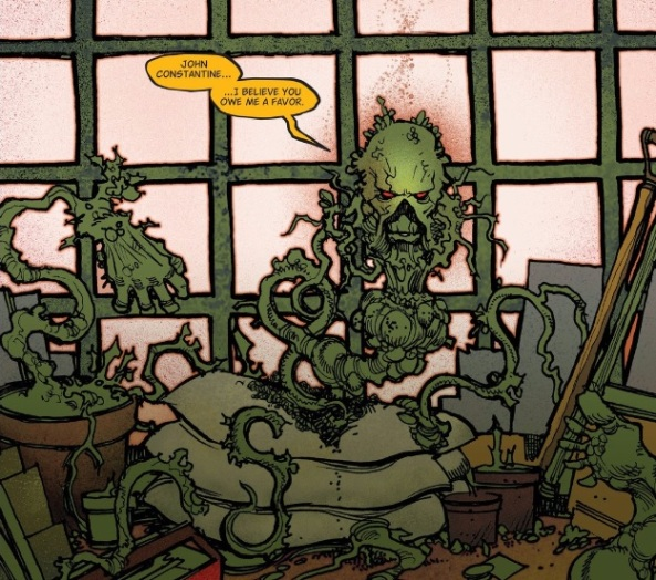 Swamp Thing in a Pot