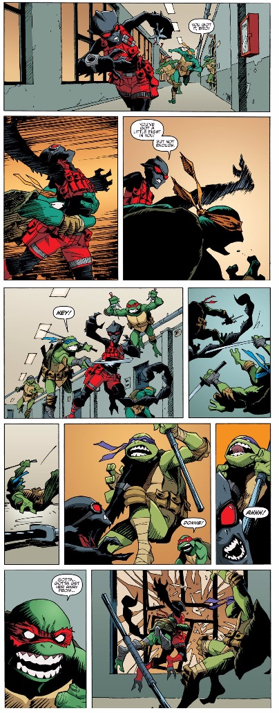 tmnt vs the scorpion