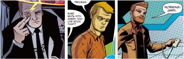 Cave Carson has a Cybernetic Beard
