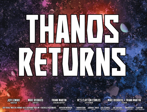 Thanos Returns