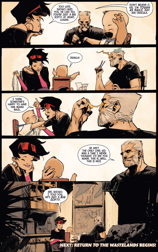 Logan and Jubilee