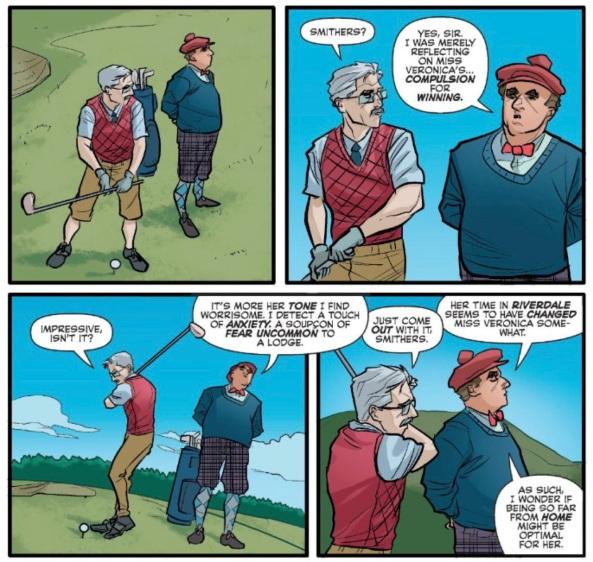 smithers-golfing