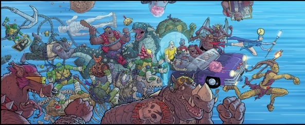TMNT: Bebop and Rocksteady Destroy Everything 1-5