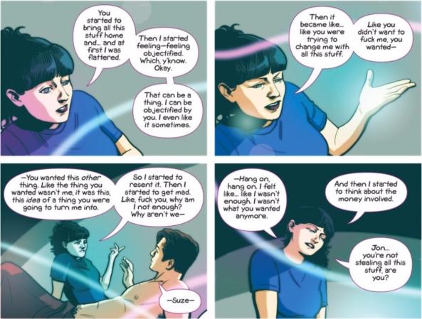 Suzie confronts Jon