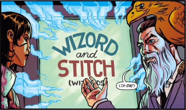 Wizord and Stitch (Wizards)