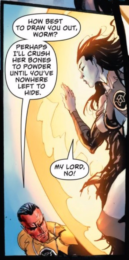 Cruel Sinestro
