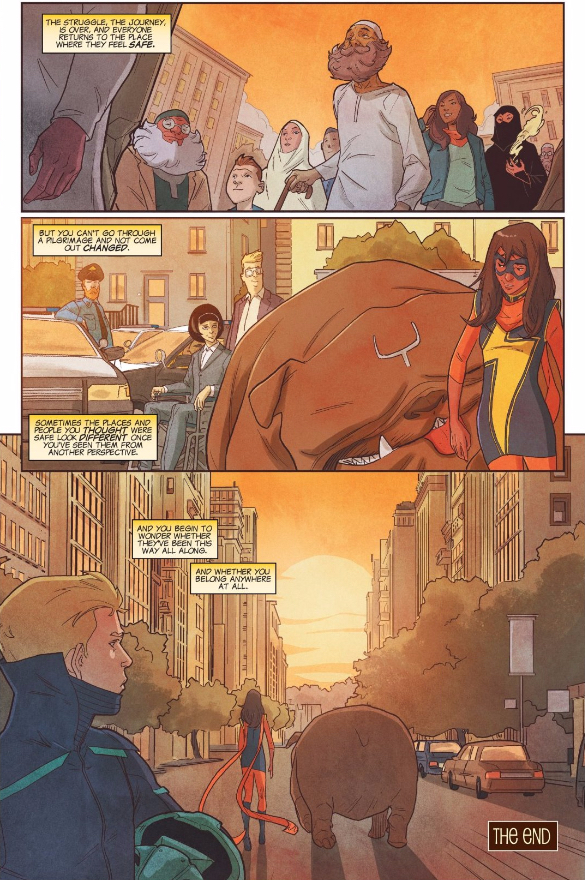 Where does Ms. Marvel belong?
