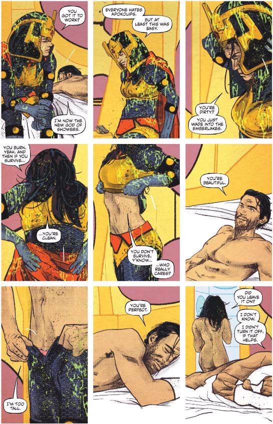 Who is Big Barda really?