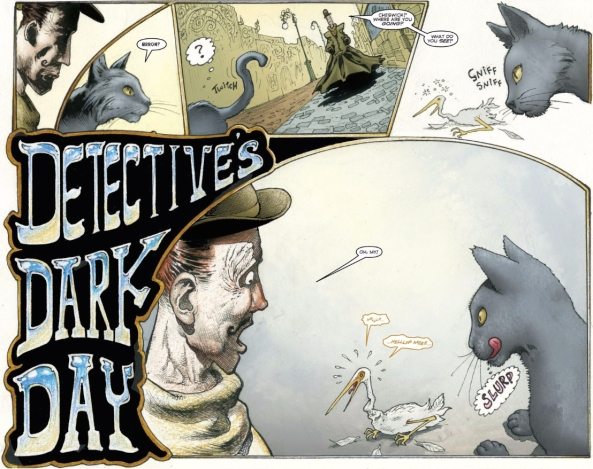 Detective's Dark Day