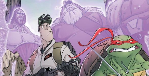 Teenage Mutant Ninja Turtles Ghostbusters II 3